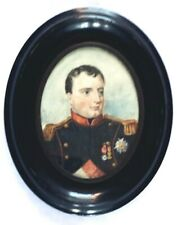Miniature Portrait Napoleon as Colonel of Grenadiers a Pied of Imperial Guard