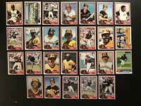 1981 Topps SAN DIEGO PADRES Complete TEAM Set OZZIE SMITH Dave WINFIELD Fingers