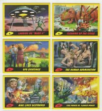 2017 TOPPS MARS ATTACKS REVENGE Yellow Parallel Base & Pencil Cards: Pick a card