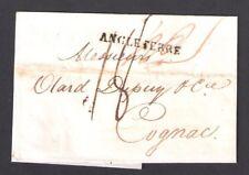 Faltbriefe aus London nach Cognac mit Stempel Angleterre vom 20.5.1817