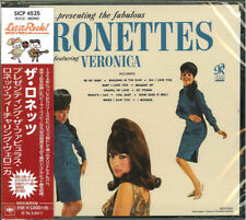 RONETTES-PRESENTING THE FABULOUS RONETTES FEATURING VERONICA-JAPAN CD Ltd/Ed B63