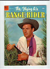 Dell FLYING A'S RANGE RIDER #5 March-May 1954 vintage western comic