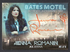 BATES MOTEL Breygent 2015 PARALLEL AUTOGRAPH CARD #AJR JENNA ROMANIN #5 OF 6