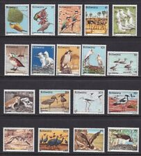 1982 Botswana - yt 451/468 Set Of 18 Values MNH