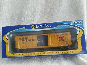 Exactrail HO Railbox Evans 5277 Single Door Box Car Early #1513