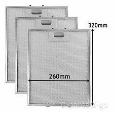3 x  Mesh Filter Vent Filters for BOSCH NEFF SIEMENS Cooker Hood  320 x 260 mm