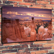 "Fantástico Bryce Canyon Utah caja impresa cuadro lienzo A1.30""x20""30mm Marco Profundo"