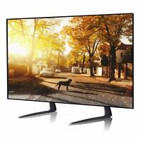 Support Universel Acier Pied Réglable TV Ecran Plat LED LCD Plasma Table Meuble