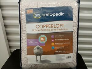 Serta Sertapedic Copperloft Mattress Pad Full
