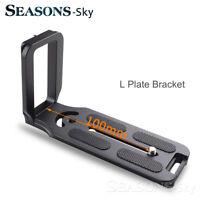 Quick Release L Plate Bracket Grip For Canon Nikon Pentax Sony Olympus Fujifilm
