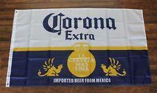 Corona Beer Banner Flag Extra Mexican Restaurant La Cerveza mas Fina Bar Mexico