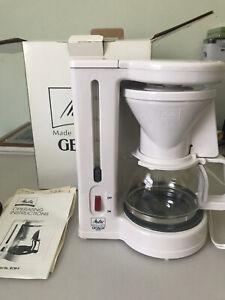 Melitta Gevalia BCM-4 4 Coffee Maker Brewer Drip Coffee Maker White