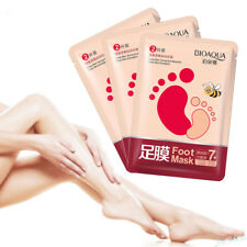 1Pair Exfoliating Honey Hand/Foot Masks Feet Care Mask Remove Dead Skin Peel Off