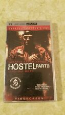 Hostel part 2 Psp umd video.