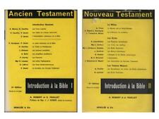 2 Volumes Introduction à la Bible Ancien & Nouveau Testament - Robert & Feuillet