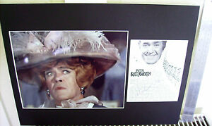 PETER BUTTERWORTH CARRY ON LEGEND AUTHENTIC SIGNED LARGE AUTOGRAPH DISPLAY UACC