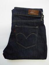 LEVI'S BOLD CURVE JEANS WOMEN'S STRAIGHT LEG W28 L32 DARK BLUE LEVP376