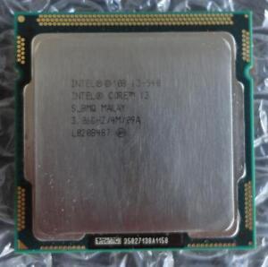 Intel SLBMQ Core i3-540 3.06GHz 4M 1st Gen Socket 1156 Dual Core CPU / Processor