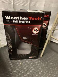 WeatherTech 120026 & 120026  No Drill Rear Mudflaps Ram 2009-2014 New Set Of 4