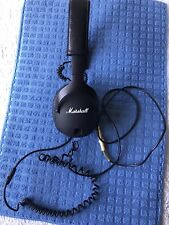 Marshall MONITOR Wired Foldable Over-the-Ear Headphones - Black