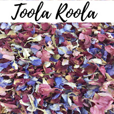 Biodegradable Natural Wedding CONFETTI Pink Blue Throwing FLUTTERFALL Rose Mix