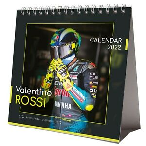 Valentino Rossi 2022 Desktop Calendar NEW Desk