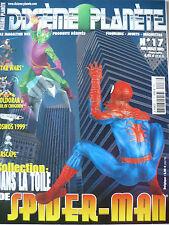 """Magazine (très bel état) - Dixième planète 17 (spécial """"Spiderman"""")"""