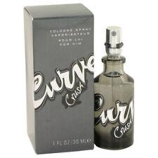 Curve Crush by Liz Claiborne for Men's Eau De Cologne Spray 1oz/30ml, New In Box