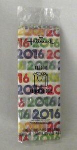 Hallmark Wrapping Tissue Paper 2016 Birthday Gift Scrapbook Crafts Anniversary