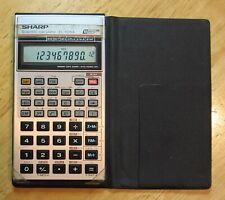 Vintage Sharp EL-506A Scientific Calculator (1985) - working + batteries + case