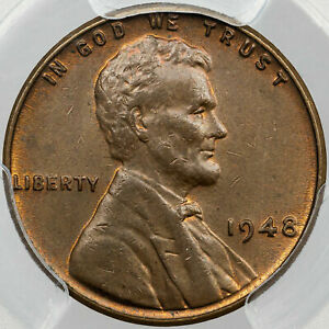 1948-P LINCOLN WHEAT CENT PENNY PCGS MS63BN BOLD COLOR #11 FINEST TONE WORLDWIDE