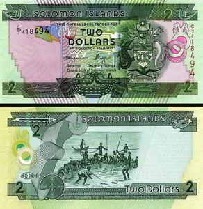 Salomon Îles - Solomon Islands 2 Dollars 2011 Fds UNC