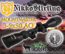 Nikko Stirling - Rimfire Rifle Scope - MountMaster - 3-9x50mm AO