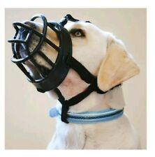 New listing BaskerVille Ultra Muzzle for DogsSize 5 Tall Extremely Tough Durable Treats ok