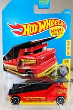 The Embosser #244 Red 2017 Hot Wheels Case L