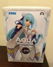 Konosuba Figure SEGA LPM AQUA EMILIA.Ver Aqua