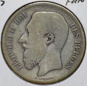 Belgium 1867 2 Francs 195363 combine shipping