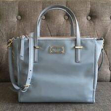 Kate Spade Wilson Road Alyse Shoulder Bag Cloud Cover Crossbody New With Tags