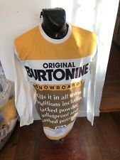 Mens Large Burton Long Sleeve Shirt DryRide Original Burtonine Snowboards