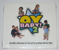 OYBABY! 2 CD - JEWISH MUSIC FOR KIDS AND THE GROWNUPS WHO LOVE THEM - 2005 - NEW