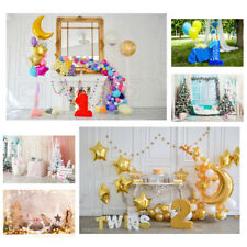 Baby Birthday Party Photography Background Art Photo Backdrop