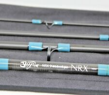 G Loomis NRX 9' 11 Weight Fly Rod 4 Pc Blue Saltwater 1190-4 New