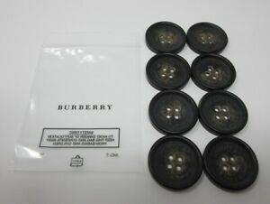 BURBERRY THE SANDRINGHAM TRENCH COAT AUTHENTIC REPLACEMENT BUTTONS 27MM SET OF 8