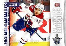 2010-11 Score Playoff Heroes #3 Michael Cammalleri