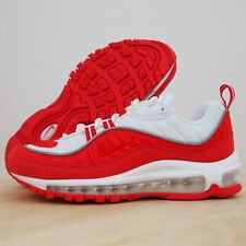 Nike Air Max 98 GS University Red White Youth Boys Sneakers Size 5.5Y