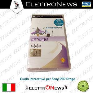 PSP Umd Passport Praga Guida interattiva Sony Psp Nuovo