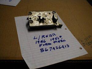 NOS FORD 1956-7 RIGHT REAR DOOR LOCK LATCH