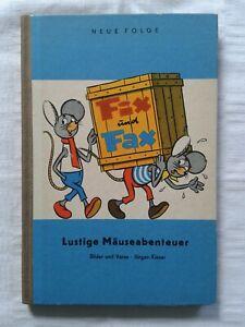 Fix und Fax - Lustige Mäuseabenteuer, Jürgen Kieser, Neue Folge, 1964
