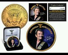 USA DOLLAR 2009 COLORISE JOHNNY HALLYDAY TOUR 66 COFFRET NUMÉROTÉ