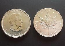 Canada 5 Dollar 2011 Maple Leaf 1oz. Silber, 1 Unze 999 Fine Silver , 1 Onza.